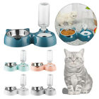 Dispenser Water Bowl Pet Feeder Cat Ears Shaped Cats Bowl Protect The Spine