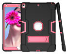 Shockproof Heavy Duty Hard Case Stand Cover for iPad 7th Gen Air Mini 1 2 3 4 5