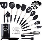Silicone Kitchen Cooking Utensil Set 30 Pcs Kitchen Utensil Spatula Set Nonstick