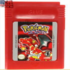 7PCS Game Cards Pokemon for Nintendo GB GBC GBA Game Boy Game Cards US Version