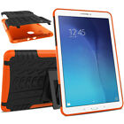 For Samsung Tab S2 8.0 9.7 S3 9.7 S4 10.5 Rubber Hybrid Slim Stand Bumper Cover