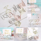 Desktop Decoration Photos Clips Place Card Table Numbers Holder Clamps Stand