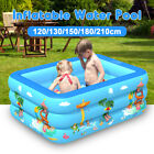 Inflatable Swimming Pool Family Kids Baby Large Water Play Center Outdoor