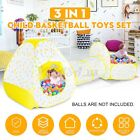 3 In 1 Kid Play Tent House Tunnel Ball Pit Baby Crawl Portable Playhouse Outdoo