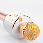 Karaoke WS-858 Wireless Bluetooth Microphone Speaker MIC USB Home Party Player