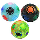 3D Creative Magic Fidget Rainbow Ball Cube Puzzle Toy Gifts for Kids Adults