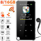 HiFi Lossless Sound Bluetooth MP3 Music Player Touch Screen Radio Voice Recorder