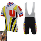 Kit Maillot+Cuissard Systeme U Fignon Cycliste Retro Vintage Classic Cyclism