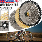 8/9/10/11/12 Speed Mtb Bike Cassette Cogs 11-50t Flywheel For Shimano Bicycle