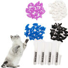 80PCS Soft Pet Cat Nail Caps Cats Paws Grooming Nail Claws Caps Covers Beauty