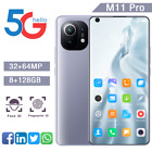 2021 M11 Pro 6.8'' Smart Mobile Phone Unlocked Android Dual Sim Deca Core 5g-lte