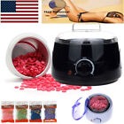 Professional Wax Warmer Heater Hair Removal Depilatory Home Waxing Kit Beans US