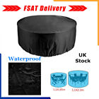 Large Round Waterproof Furniture Cover Outdoor Garden Patio Table Chair Set Uk