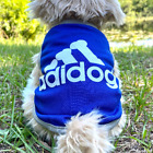 Blue Dog Shirt Clothes Accessories Small Dogs Sweater Jacket Apparel Medium
