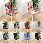 1X Banquet Wedding Party Dining Decor Floral Elastic Chair Seat Cover Slipcover