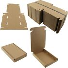 Brown Strong Cardboard Large Letter C6 / A6 Size Roya Mail Postal Box FREE PP