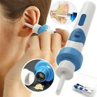 Safety Electric Cordless Vacuum Ear Cleaner Wax Remover Painless Cleaning Tool