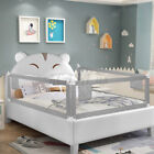 2pcs Baby Guard Bed Rail Toddler Safety Kids Adjustable Infant Bed Universal USA