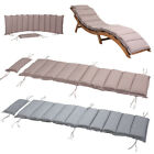 Sun Lounger Cushion Lounger Pad Water-Repellent Breathable Recliner Garden Seat