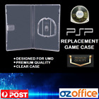 Psp Replacement Game Case - Playstation Portable Umd Game Case Premium Clear