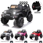 12V Kids Ride On Truck 3 Speed Battery Powered Electric Car with Remote Control