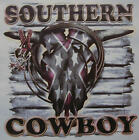 SOUTHERN COWBOY BULL SKULL / SPURS & ROPE RODEO SHIRT #1339
