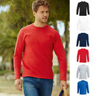 5x LANGARM VALUEWEIGHT LONG SLEEVE T-SHIRT FRUIT OF THE LOOM 6 FARBEN S-XXL