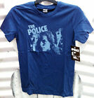 THE POLICE WOMEN'S BLUE 'REGGATTA DE BLANC' T-SHIRT NEW