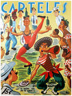 450.Quality Design poster*Street Performers in Havana* !Funny! retro interior