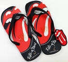 ROLLING STONES 'LIPS' MEN'S & WOMEN'S RUBBER THONGS