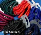 18pc THICK & THIN HAIR ELASTICS SCHOOL COLOURS MIXED HAIRBANDS BOBBLES PONY TAIL