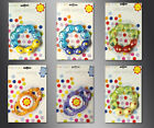 BRAND NEW & SEALED - WATER FILLED BABY RATTLE TEETHER TEETHING RATTLER ROUND -