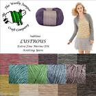1/2 PRICE - SUBLIME LUSTROUS EXTRAFINE MERINO WOOL KNITTING YARN