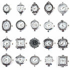 Bulk Silver Tone Quartz Watch Faces Findings Choose From the 10 Styles ~ working