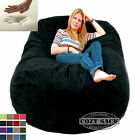 Giant Bean Bag Chair 6' Cozy Foam Filled By Cozy Sack Buy Factory Direct