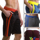 New 5Color 3size Mens Sports Gym Jogger Lounge Leisure Shorts Sweat Pants Bottom