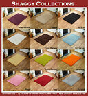 NEW THICK PLAIN SHAGGY SMALL, MEDIUM, LARGE, EXTRA LARGE AND CIRCLE DESIGN RUGS