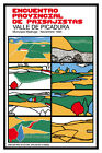3112.Meeting provincial landscape.Valle de Picadura POSTER.Cuban Decorative Art.