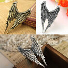 Fashion Cool Silver Color Crystal Rhinestone Angel Wing Ring