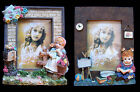 Child Girl Bas-relief Photo Frame in 2 Styles NEW in Box