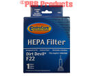 HEPA F 22 26 Filter Type Upright Dirt Devil Vacuum Cleaner Model Featherlite