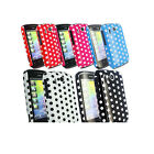FOR HTC EXPLORER STYLISH RETRO POLKA DOTS SERIES CASE COVER+SCREEN PROTECTOR