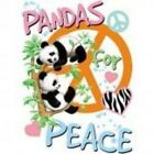 NEW CHILDRENS BABIES KIDS T-SHIRT - Panda's For Peace