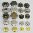 """Leather craft Rapid Rivet Button METAL Snaps Fasteners 12mm 1/2""""  50 100 500 set"""