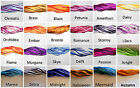 Variegated Satin 2 mm rattail cord hand dyed for jewelry macrame 10 yards yds m