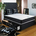 "2FT6 SMALL SINGLE DIVAN BED +11"" ORTHO MEMORY FOAM MATT + HEADBOARD/DRAWERS SALE"