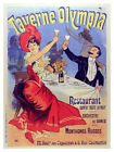 5256.Taverne Olympia art Nouveau Poster.bedRoom Interior design.Home wall Decor