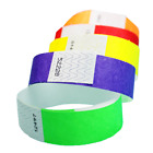 100 3/4�Tyvek Wristbands- Choose Your Color-Bars,Events,Clubs,Security,ArmBands