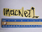 Macneil -Variation Listing- BMX Bike Street Car Truck Rack Frame Decal STICKER
