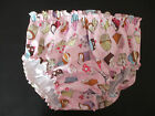 COTTON PRINT KNICKERS LINED PLASTIC PANTS, ADULT BABY OTTON,SISSY ,UNISEX,